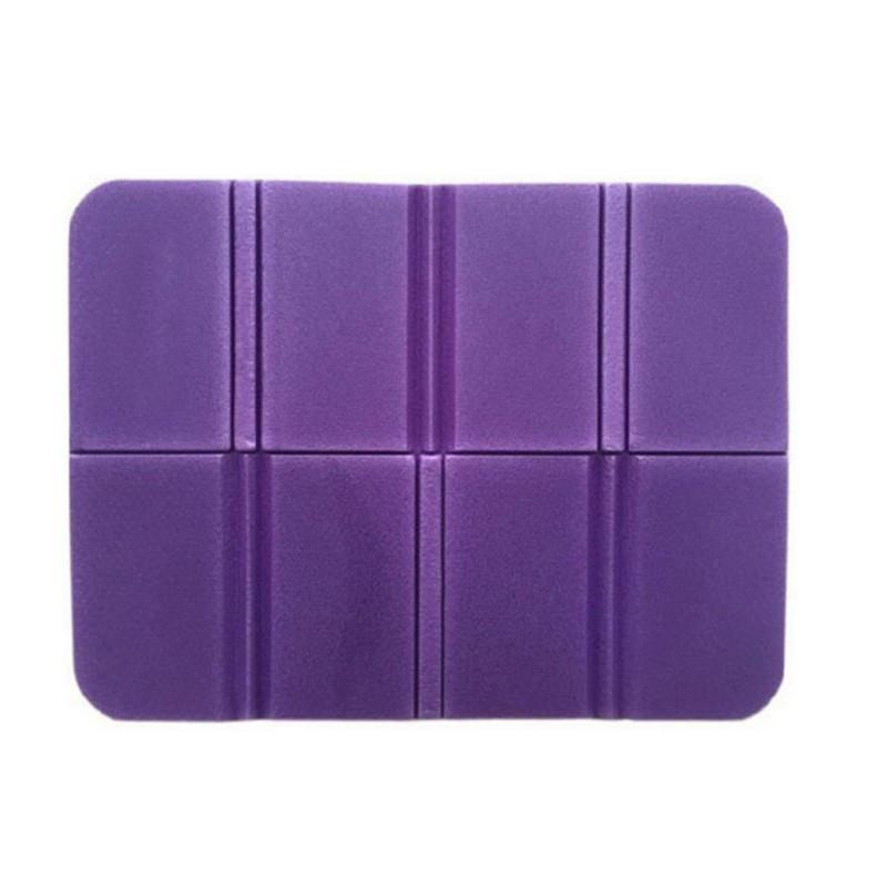 Складной коврик сидушка XPE пенка. Фиолетовый.