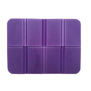 Складной коврик сидушка XPEпенка. Фиолетовый.