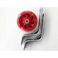 Доп. колеса светящиеся12-20 (пластик /метал) Червоний