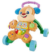 Музыкальная каталка Fisher-Price Laugh & Learn Smart Stages Learn with Puppy Walker!