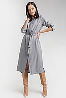 Очаровательной платье-рубашка прямого силуэта