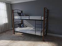 Кровать MELBI Элизабет Двухъярусная 90200 см Черный КМ-005-03-8чер, КОД: 1398800