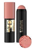 Кремовые румяна в стике Eveline Cosmetics Creamy Blush Full HD 04, КОД: 1089125