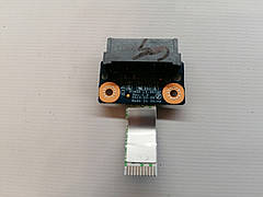 Б/У Плата разъем SATA подключения ODD для ноутбука LENOVO G500, G505, G510 (LS-9634P)