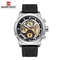Часы наручные Naviforce NF9167 Black-Silver