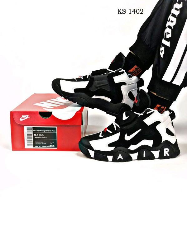 Чоловічі кросівки Nike Air Barrage Mid / чоловічі кросівки Найк (Топ репліка ААА+)