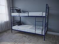 Кровать MELBI Элис Люкс Двухъярусная 90х190 см Ультрамарин, КОД: 1389613