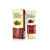 BB-Cream с экстрактом слизи улитки Farm Stay Visible Difference Snail