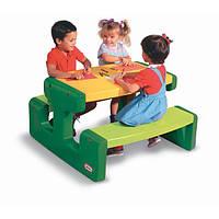 Большой пикниковый столик зеленый Little Tikes 466A