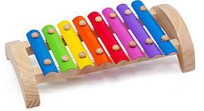 Деревянная игрушка Ксилофон 8 тонов (Д379)
