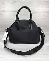 Тканевая сумка Elis черная, фото 1