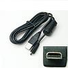 Кабель USB для Casio Exilim EX-H5   EX-S9   EX-Z16   EX-Z33   EX-Z35   EX-Z37   EX-Z370   EX-Z670   EX-Z800