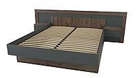 Кровать Вирджиния 160x200 таксус/графит