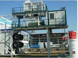 Мобильный бетонный завод Сesan MBS 100