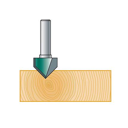 19х16х51х8, z=2 90° V-образная пазовая фреза Stehle, фото 2