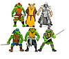 Набор игрушек Черепашки-ниндзя 6 шт Набор игрушек Ninja Turtles  Фигурки