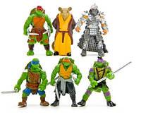 Набор игрушек Черепашки-ниндзя 6 шт Набор игрушек Ninja Turtles  Фигурки, фото 1