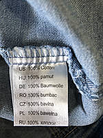 Джинсовая куртка для девочек оптом, Glo-story, 122/128-158/164 рр., арт. GSX-8048, фото 9