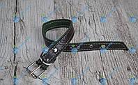 Ошейник комбинированный 25мм/кожа-брезент, фото 1