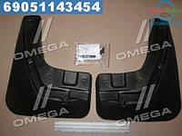 ⭐⭐⭐⭐⭐ Брызговики передние Ford Focus, 2004-2011 2 шт.(стандарт)(про-во NOVLINE)  NLF.16.03.F11