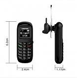 Мини Мобильный Телефон GTSTAR BM70 Black Чёрный (Черный), фото 3