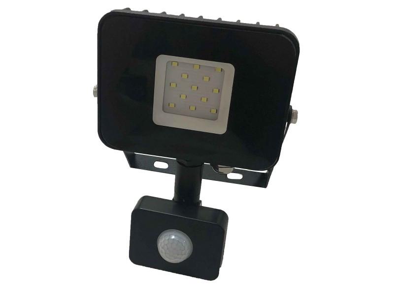 Светодиодный прожектор Luxel  220-240V 10W IP65 (LED-LPES-10-C 10W)