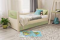 Кровать Марго Премиум. Бесплатная доставка 200, 90, Фисташка