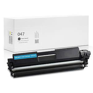 Совместимый картридж Canon 047 Black, 1.600 копий, аналог от Gravitone (GTC-CRG-047-TN-BK)