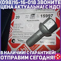 ⭐⭐⭐⭐⭐ Болт колесный M12x1,5/52 Mercedes (производство  Febi) МЕРСЕДЕС,КОМБИ,СЛ, 15997