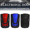 Автомобильный Антирадары  Radar Detector Русский голос  Авто 360 градусов светодиодный Дисплей 16 BAND V7, фото 8