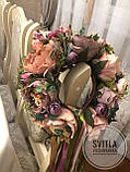 """Вінок на голову """"Цвіт піона"""", фото 3"""