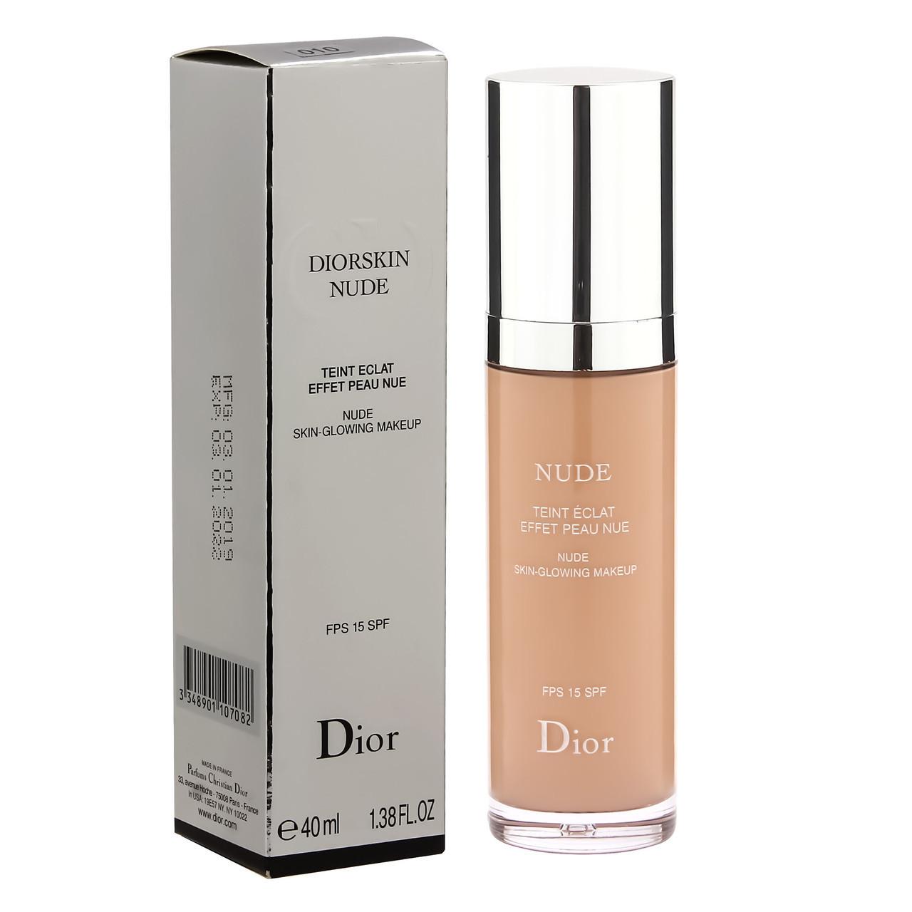 Крем тональный Dior Diorskin Nude примятая упаковка