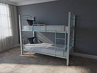 Кровать MELBI Элизабет Двухъярусная 90200 см Бирюзовый КМ-005-03-8бир, КОД: 1398806