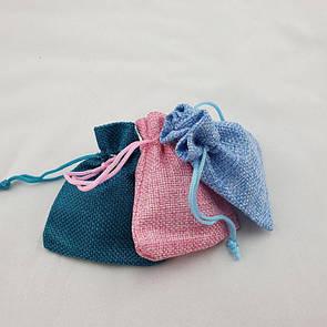 Мешочек из мешковины (текстиля)
