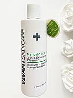 Отшелушивающее средство с миндальной кислотой Mandelic Acid 3-in-1 Wash Exfolianting Cleanser Vivant Skin Care