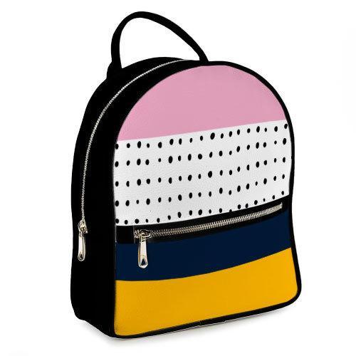 Міський жіночий рюкзак Смужки (ERK_17A010_BL)