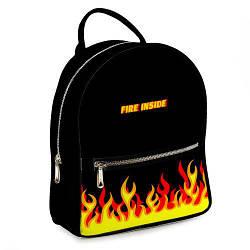 Міський жіночий рюкзак Fire inside (ERK_17A014_BL)