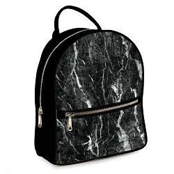 Рюкзак міський жіночий Чорний мармур (ERK_17A020_BL)