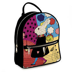 Міський жіночий рюкзак Заєць (ERK_17A021_BL)