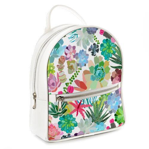 Городской женский рюкзак Тропики (ERK_17A035_WH)