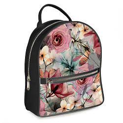 Міський жіночий рюкзак Квіти (ERK_17A067_SE)