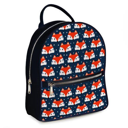 Городской женский рюкзак Лисички (ERK_17A072_TSI)