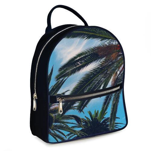Городской женский рюкзак Пальмы (ERK_17A075_TSI)