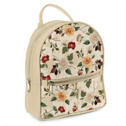 Городской женский рюкзак Розочки (ERK_FFL016_SBR)