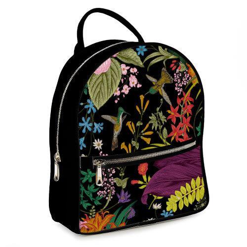 Міський жіночий рюкзак Колібрі (ERK_TRO012_BL)