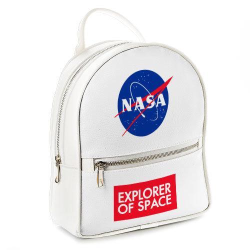 Городской женский рюкзак NASA (ERK_UNI009_WH)