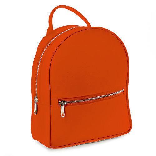 Городской женский рюкзак (морковный) (ERK1_MR)
