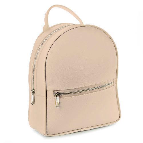 Городской женский рюкзак (пудровый) (ERK1_PUD)