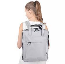 Рюкзак для ручной клади унисекс (серый)