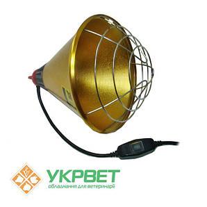 Защитный брудер для инфракрасной лампы, патрон Е27 с переключателем